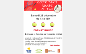 COUPE DAVIS ROUGE au TCR
